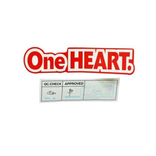 Foto Produk Sticker Body (Mark One Heart 130mm R1) - CBR 150R K45G K45N dari Honda Cengkareng