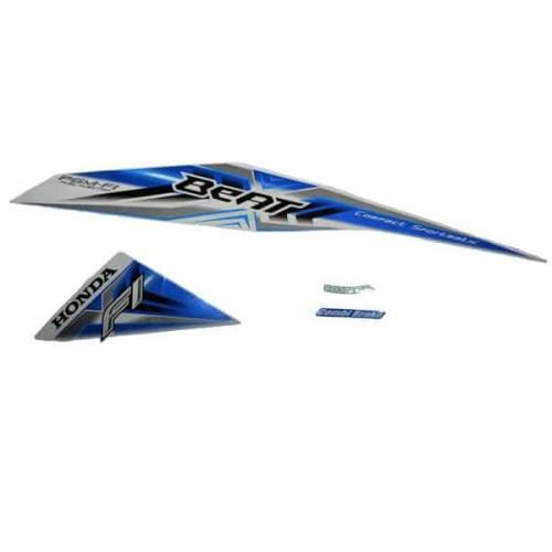 Foto Produk Sticker Body Kiri White Blue - BeAT Sporty eSP (K25) (871X0K25600ZCL) dari Honda Cengkareng