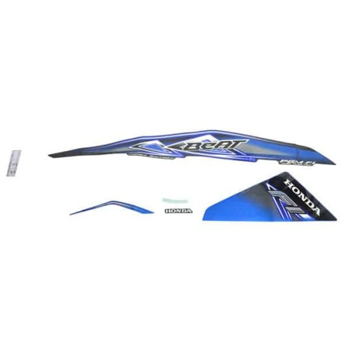 Foto Produk Sticker Body Kanan (Stripe Blue Black R) - BeAT FI CBS dari Honda Cengkareng