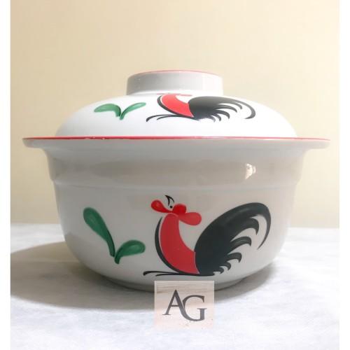 Foto Produk Mangkok Saji Sapo Ayam Jago Seri 2/ casserole/ mangkok sapo tahu dari Fragrace