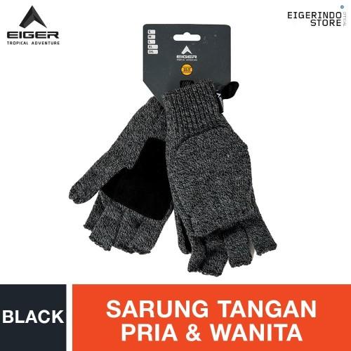 Foto Produk Eiger Clave Gloves - Black L dari Eigerindo Store