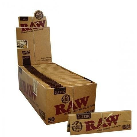 Foto Produk rolling paper raw single wide 50 lembar dari T.Dynamite