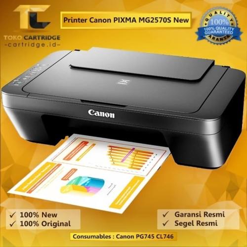 Foto Produk Printer Canon PIXMA MG2570S MG 2570s Print Scan Copy all in one A4 New dari TokoCartridgeOnline
