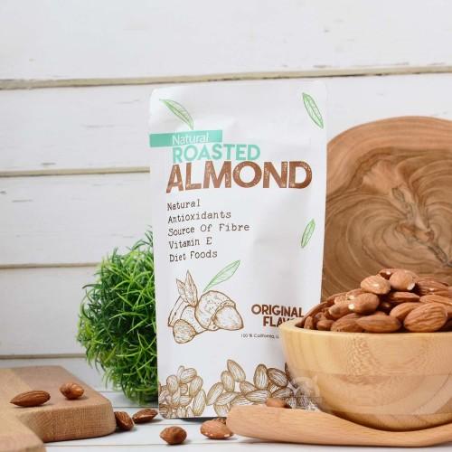 Foto Produk Natural Roasted Almond (Panggang) 1 Kg dari House Of Organix