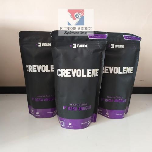 Foto Produk Evolene Crevolene Creatine 330 gram 60 serving dari FitnessAddict Suplemen