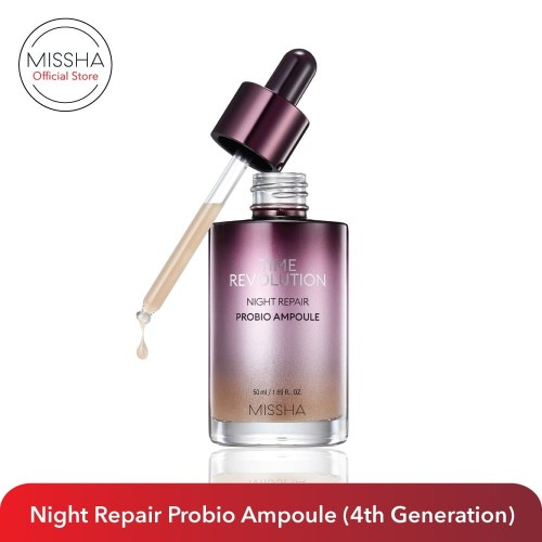 Foto Produk MISSHA Time Revolution Night Probio Ampoule (New 4th Gen) dari Missha Indonesia