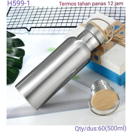 Foto Produk TUMBLER PROMOSI STAINLIESS H599 500.ml SOUVENIR dari Outlet souvenir JKT