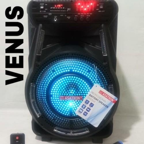 Foto Produk Speaker Bluetooth meeting portable Asatron VENUS 8880 with ekualizer dari AP accesories