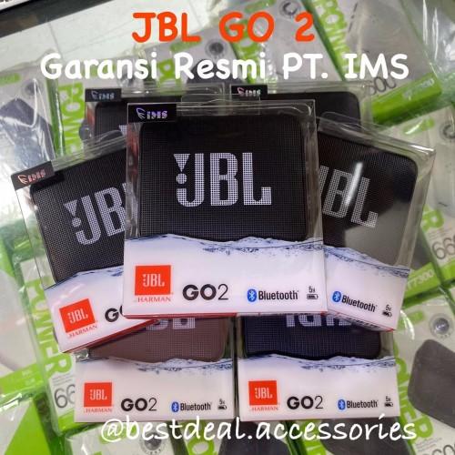 Foto Produk JBL GO 2 Portable Speaker Bluetooth Original (JBL Go Ver 2) dari Bestdeal Accessories