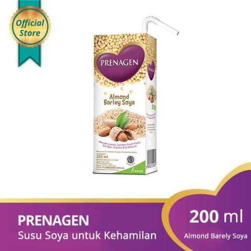 Foto Produk Prenagen UHT Soya Almond Barley Soya 200ml dari Prenagen World Official
