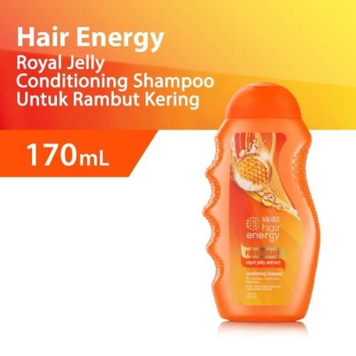 Foto Produk Makarizo Hair Energy Fibertherapy Shampoo Royal Jelly 170 mL dari Makarizo