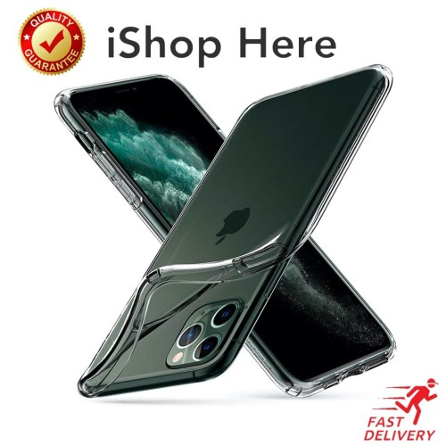 Foto Produk Transparan Bening Soft Case Perfect Fit Casing iPhone 11 Pro Max - iPhone 11 dari iShop Here