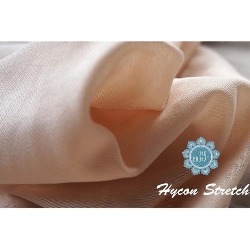 Foto Produk Kain Hycon Stretch / Hycon Furing (Per 0,5 Meter) - Maroon dari Toko Brukat