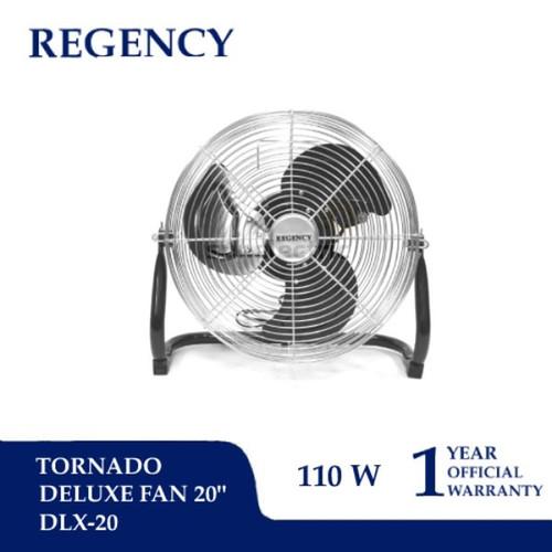 """Foto Produk (KHUSUS GOJEK/GRAB) 20"""" (51 cm) Tornado Fan/Kipas Angin Lantai Regency dari SUN ELECTRIC"""