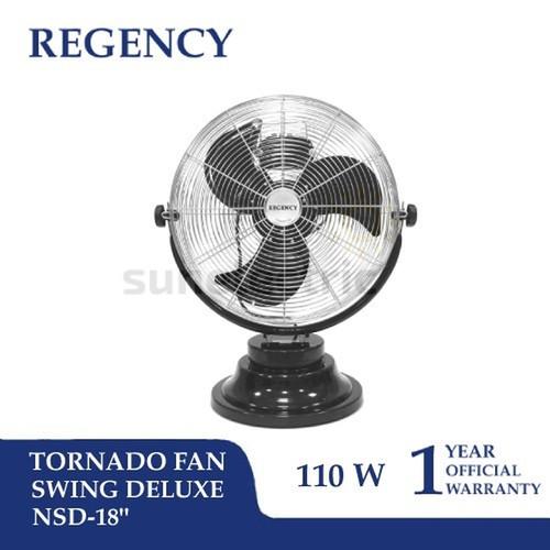 """Foto Produk (KHUSUS GOJEK/GRAB) 18"""" (45 cm) Tornado Swing Deluxe Fan Regency dari SUN ELECTRIC"""