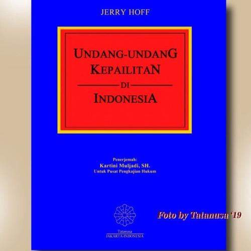 Foto Produk Undang-undang Kepailitan di Indonesia dari Tatanusa