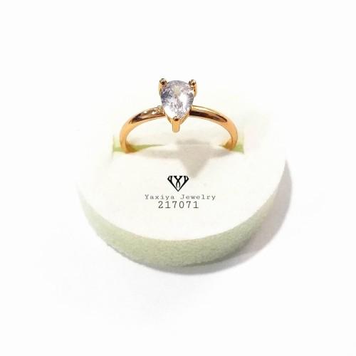 Foto Produk Cincin Mata1 Permata Perhiasan imitasi Yaxiya Jewelry 217071 - 17MM dari YAXIYA JEWELRY