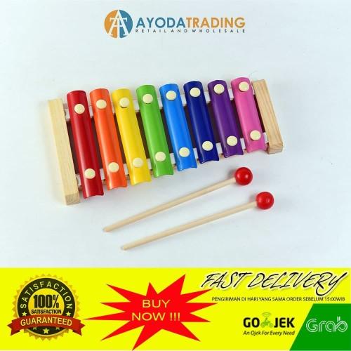 Foto Produk Medium Kulintang Mainan Xylophone Edukatif Edukasi Alat Musik Balita dari Ayoda Trading