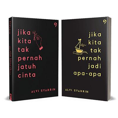 Foto Produk Paket : Jika Kita Tak Pernah Jatuh Cinta & Jadi Apa Apa, Alvi Syahrin dari OPID Merchandise