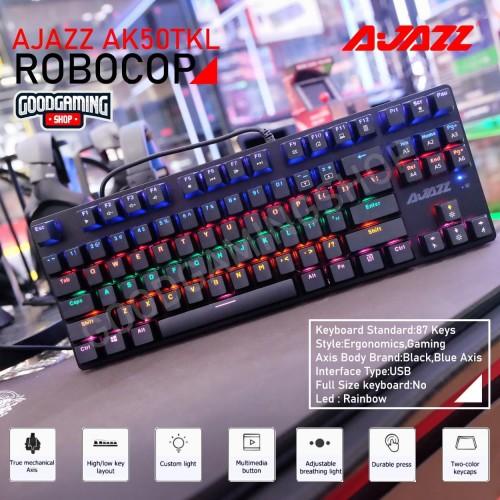 Foto Produk AJAZZ AK50 TKL ROBOCOP BLACK EDITION dari GOODGAMINGM2M