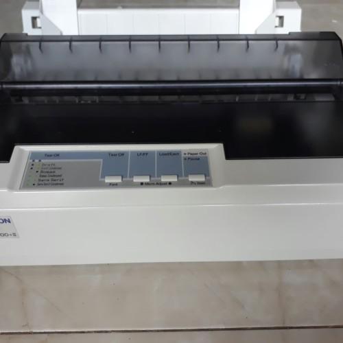 Foto Produk PRINTER EPSON LX 300+II USB LENGKAP BAGUS GARANSI dari Printer Tamanmini
