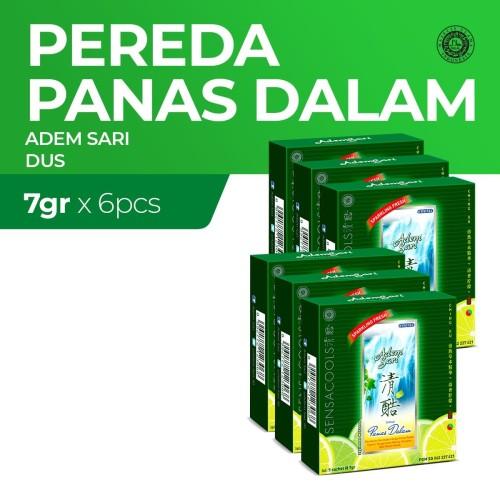 Foto Produk Adem Sari Larutan Penyejuk Dus 5'S 6 pcs x7Gr Value Pack dari Enesis Official Store
