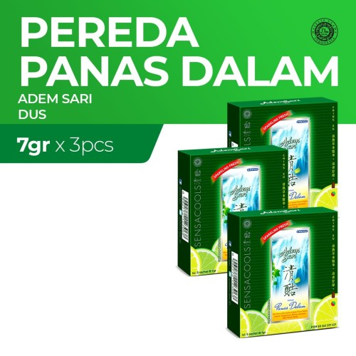 Foto Produk Adem Sari Larutan Penyejuk Dus 5'S x3 7Gr dari Enesis Official Store