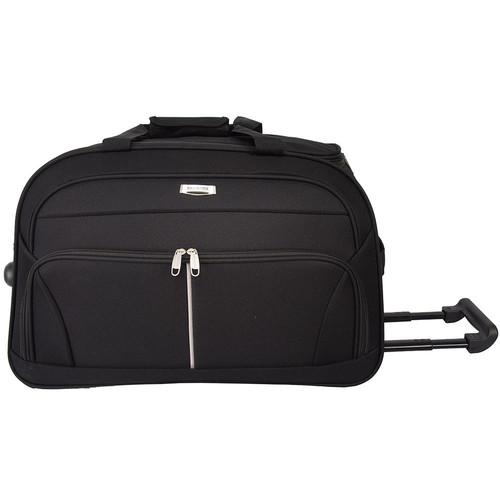 Foto Produk Polo Hunter Tas Kabin-Duffle Bag with Trolley- Travel EIB Size 19 inch - Hitam dari Navy Club Official Store