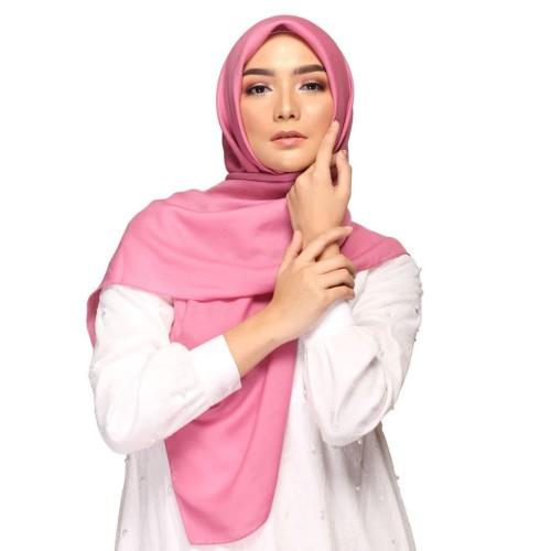 Foto Produk Elzatta Hijab Scarf Keisha Savana Pink 110 dari elzatta Official Store