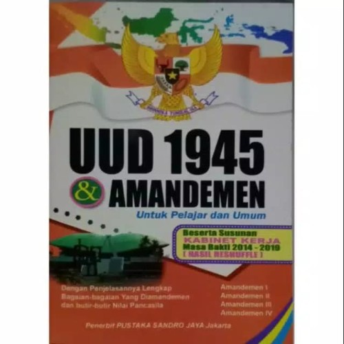 Foto Produk UUD 1945 & AMANDEMEN dari Toko Buku dan Stationery