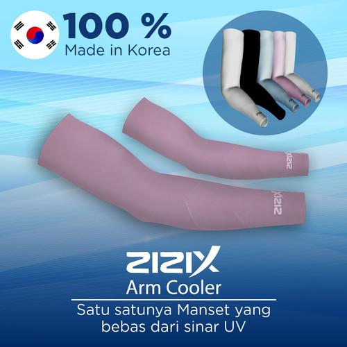 Foto Produk Zizix Arm Sleeve Manset Dingin Anti UV Pelindung Lengan dari Matahari - Merah Muda dari Gogomall Official Store