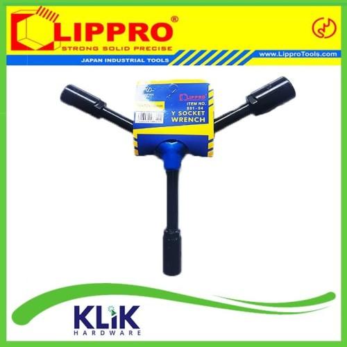 Foto Produk Lippro Kunci Shock Y 10x12x14 mm - Kunci sok Y dari KLiK Hardware