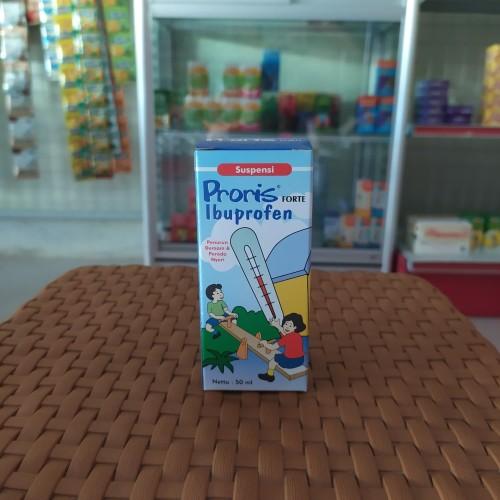 Foto Produk Proris Forte Ibuprofen ( obat penurun demam dan nyeri anak dan dewasa) dari Bahagia Cap MENARA