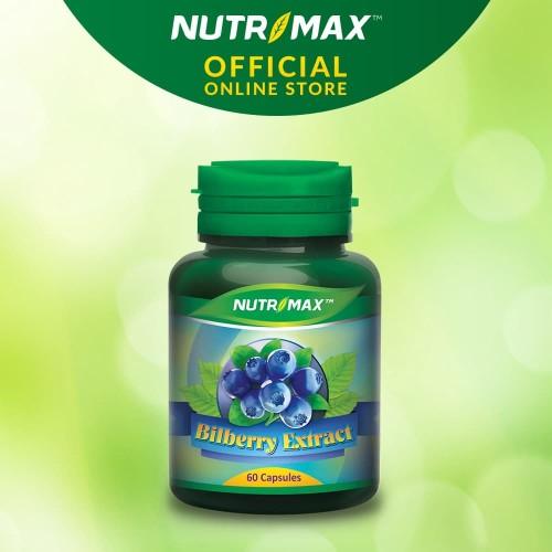 Foto Produk NUTRIMAX BILBERRY EXTRACT 60 NATURECAPS dari Nutrimax Official Store