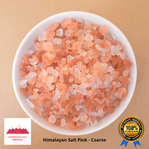 Foto Produk 100% Garam Himalaya Himalayan Salt Himalaya Salt Garam Himalaya - Coarse Pink dari Natural Sea Salt Indo