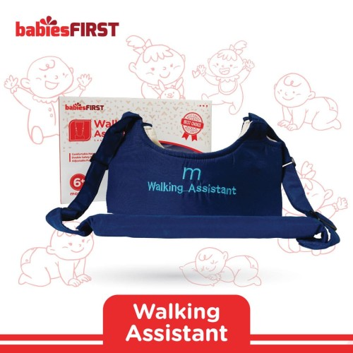 Foto Produk babiesFIRST - WALKING ASSISTANT BF401 NAVY dari KSM Baby and Kids