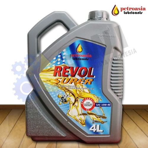 Foto Produk Petroasia Revol Super S-4 SAE 10W40 API-SL 4L, SNI dari Petroasia Lubricants