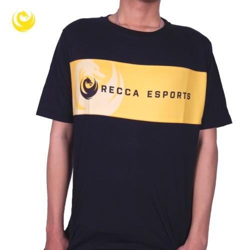 Foto Produk T-Shirt Recca Esports - Hitam, M dari Recca Esports