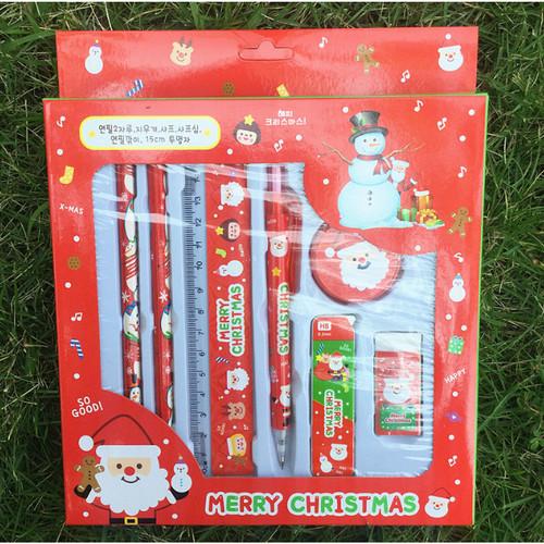 Foto Produk alat tulis tema natal, souvenir natal, paket alat tulis motif natal dari KAYO