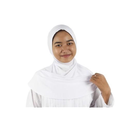 Foto Produk Ciput Ninja Inner Dalaman Jilbab Putih - Perlengkapan Haji dan Umroh dari Zaidan Mall