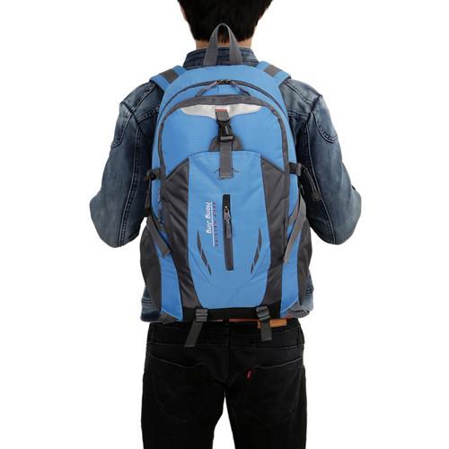 Foto Produk Freeknight Tas Ransel Pria Import Backpack Tas Laptop TR106 - Biru dari Freeknight