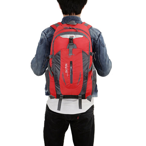 Foto Produk Freeknight Tas Ransel Pria Import Backpack Tas Laptop TR106 - Merah dari Freeknight