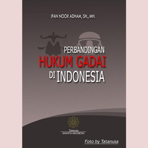 Foto Produk Perbandingan Hukum Gadai di Indonesia dari Tatanusa