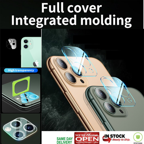 Foto Produk iPhone 11 Pro Max / 11 Pro / 11 LENS Tempered FULL PROTECTION CLEAR - iPhone 11ProMax dari Spigen Indonesia