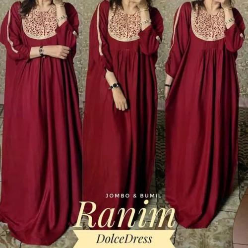 Foto Produk DASTER ARAB/ INDIA/ TURKI DOLCE RANIM DRESS BUSUI BIGSIZE dari ALJAZEERASTORE