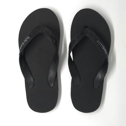 Foto Produk GROSIR Sandal Jepit Sun Swallow Hitam / Full Black Size 11 dari 89stories