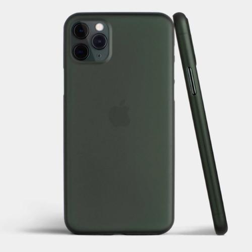 Foto Produk Totallee iPhone 11 Pro Max / 11 Pro Premium Thin Case MIDNIGHT GREEN dari adhiomar