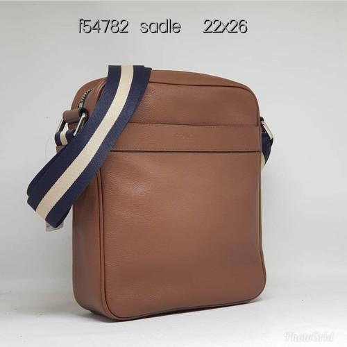 Foto Produk Coach F54782 Flight Bag Leather Dark Saddle dari ferliarj16