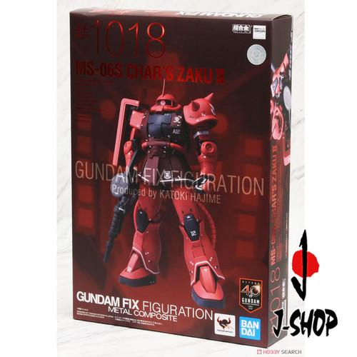 Foto Produk Gundam Fix Figuration Metal Composite MS-06S Zaku II Char Aznable MS dari J-SHOP INDONESIA