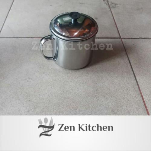 Foto Produk murah mug cangkir gelas stainless 9cm dari Zenn Kitchen